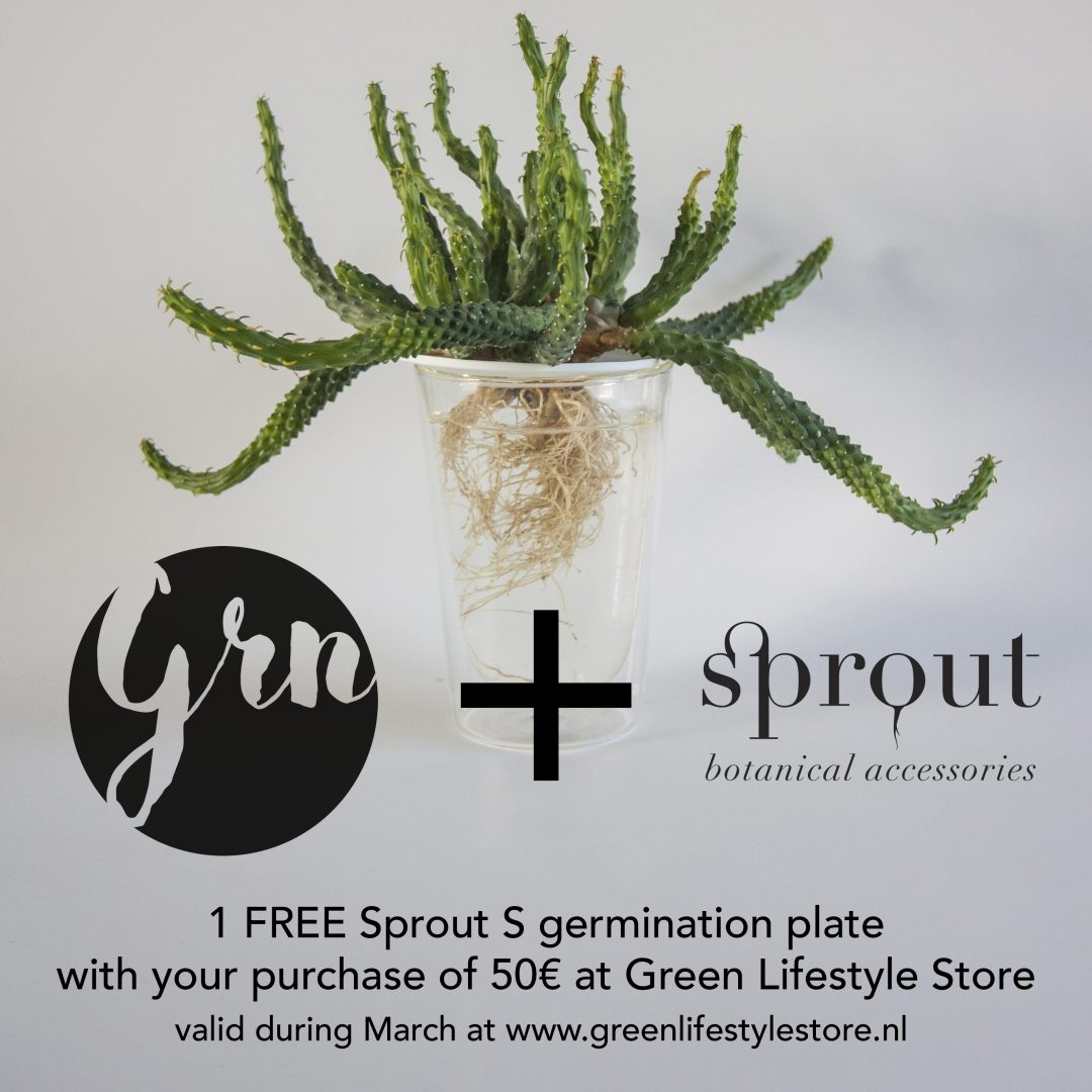 Free Sprout S with your purchase of 50€ or more at Green Lifestyle Store